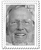 Stamp Ture Sjolander Collectors Item 2007