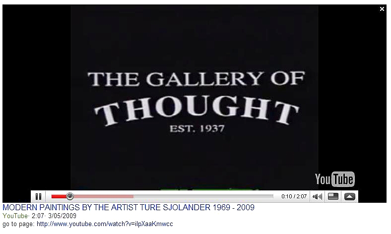 THE GALLERY OF THOUGHT 2009